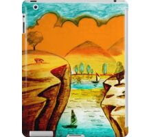 Hand Drawn Scenery iPad Case/Skin