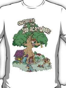100 Acre Woods Outbreak T-Shirt