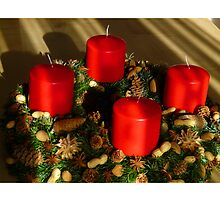 Advent Wreath by boogeyman