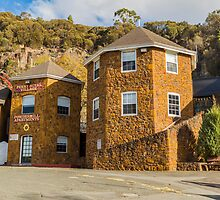 Penny Royal, Launceston, Tasmania, Australia by Elaine Teague