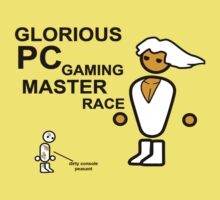 GLORIOUS PC MASTER RACE SHIRTS & STICKERS by versson