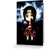 Itachi Uchibi Greeting Card