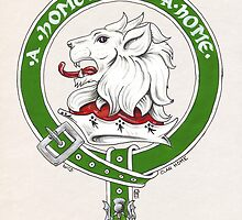 Clan Home Scottish Crest by Cleave