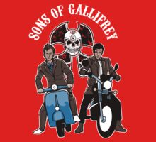 Sons of Gallifrey Kids Clothes