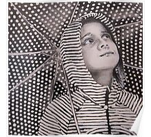 Rain Geometry Poster