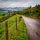 The Road to Cerne Abbas by Geoff Carpenter