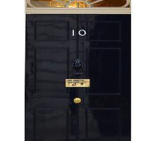 Downing Street Door by BisKrome
