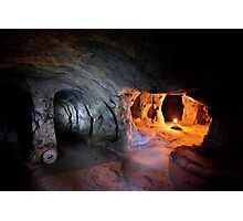 Aladdin's lamp in Mazikoy underground city Photographic Print