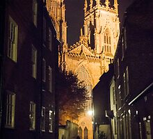 York Minster at Night by Sue Martin