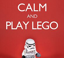 Keep calm and play lego by designholic