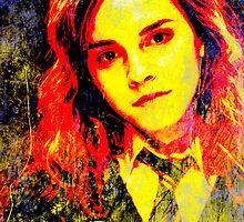 Emma Watson as Hermione Granger by John Novis