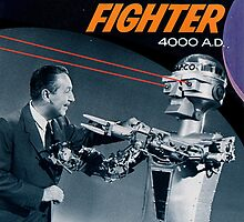 Uncle Walt, Robo-Fighter by Allen Pinney