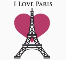 I Love Paris by Sieris