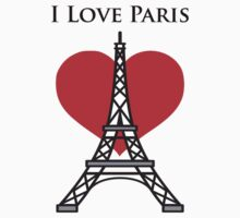 I Love Paris by Sieris