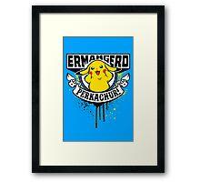 Ermahgerd Perkachur Framed Print