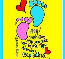 That Little Step... by Sammy Nuttall