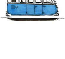 Future Bus-blue by bulldawgdude