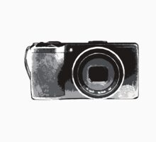 Black and White Point and Shoot Camera by strayfoto