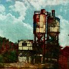 Abandoned Mill - Greeting card by Scott Mitchell