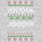 Human Centipede Christmas Sweater - Grey by PenguinPlot