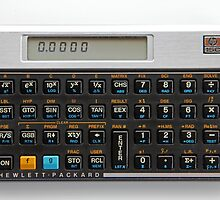 Hewlett Packard Calculator Calendar  by Keith Midson