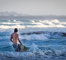 The call of the waves by Pete Evans