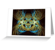 Spheres Greeting Card