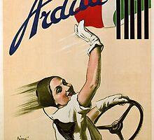 Vintage Italian Ad Poster by georginashford