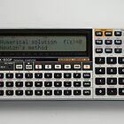 Casio FX-850P pocket computer by Keith Midson
