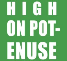 Key & Peele: High On Pot-Enuse Shirt by xnmex