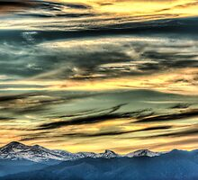 The Rush Of Colorado Sky  by Greg Summers