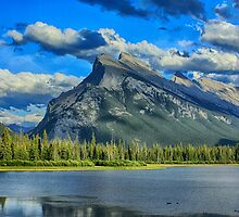 Mount Rundle by Charles Kosina