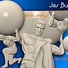 3D Figure/Statue Sample (Portfolio Page) by JBurkeDesign