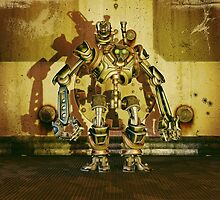 Steampunk Robot - The Nemesis by Liam Liberty