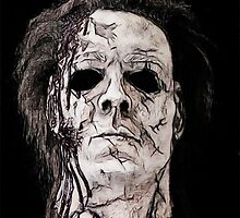 myers mask by American Artist