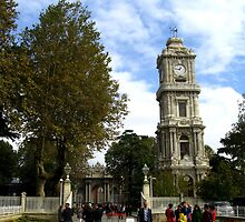 Dolmabahçe Clock Tower by Maria1606