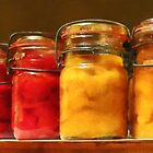 Canned Tomatoes and Peaches by Susan Savad
