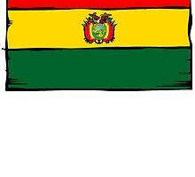 Bolivia Flag by kwg2200