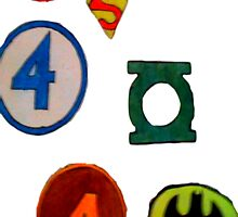 Superhero Logo's by TheMuppet525