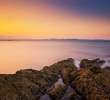Sunset Seascape by Stuart Pardue