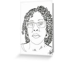 Twist-Out Do with As I Am Double Butter Creme - Digital Sketch Greeting Card