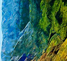 Waimea Canyon 10 Abstract Impressionism by pjwuebker