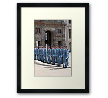 Changing of the guard. Framed Print
