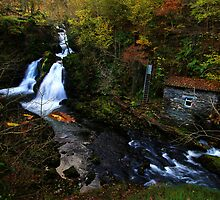 Colwith Force Waterfall, Little Langdale,Cumbria by Mark Haynes Photography