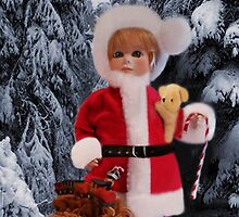 ❤ 。◕‿◕。 LITTLE MISS SANTA AND A SACK FULL OF GIFTS ❤ 。◕‿◕。  by ╰⊰✿ℒᵒᶹᵉ Bonita✿⊱╮ Lalonde✿⊱╮