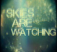#skiesarewatching blur by CUSP1