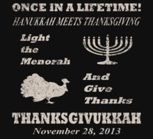 Classic Thanksgivukkah - Hanukkah meets Thanksgiving by xdurango