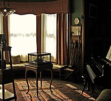 The Music Room at Glenmont Estate, Thomas Edison's residence by Jane Neill-Hancock