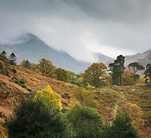 Clouds washing over by Ralph Goldsmith