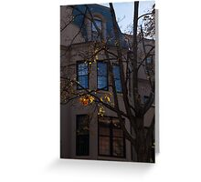 Washington, DC Facades - Dupont Circle Neighborhood  Greeting Card